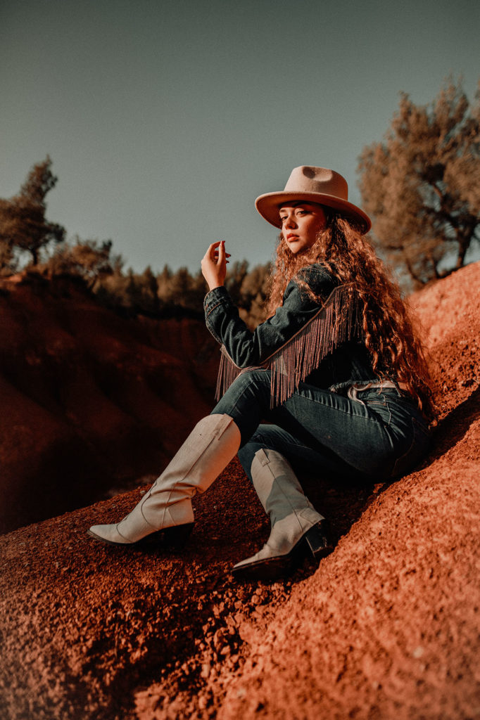 Photo numéro 3 du shooting western désert