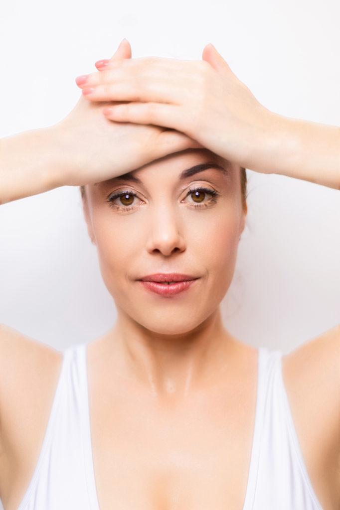 Photo numéro 2 du shooting yoga du visage