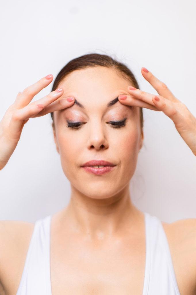 Photo numéro 4 du shooting yoga du visage